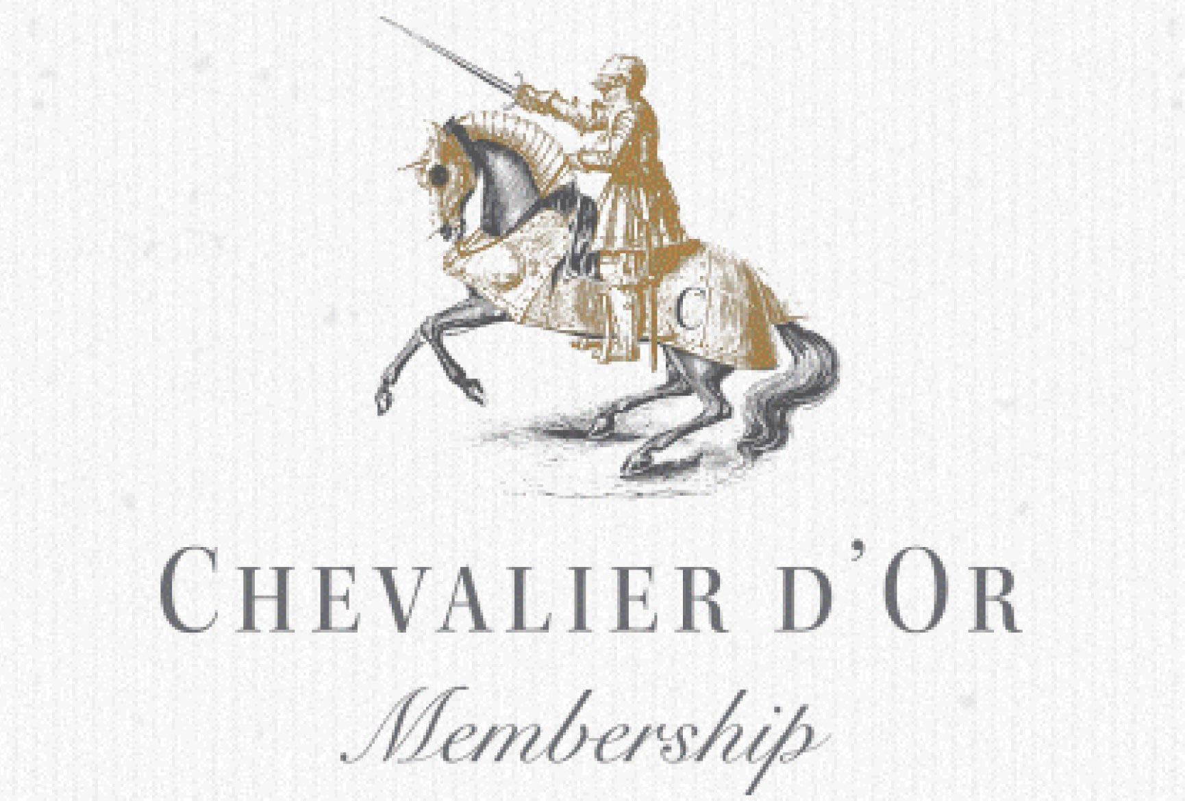 Chevalier d'Or membership