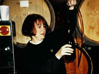 1990 - McMinnville vintage 1993 Carter Vineyard syphoned out by hand for 24 cases.