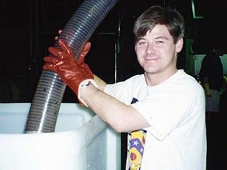 1994 - Mark - pumping into fermentor