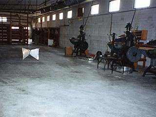 1994 - Fermentation Room prior to set up at Carlton