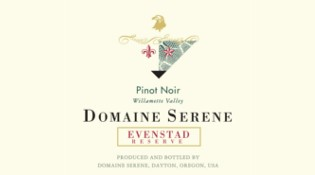Evenstad Reserve Pinot Noir Label