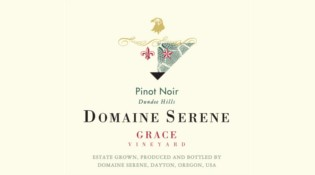 Grace Vineyard Pinot Noir Label