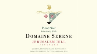 Jerusalem Hill Pinot Noir Label
