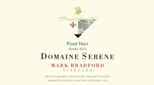 Mark Bradford Pinot Noir Label