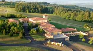 Winery Aerial Back View